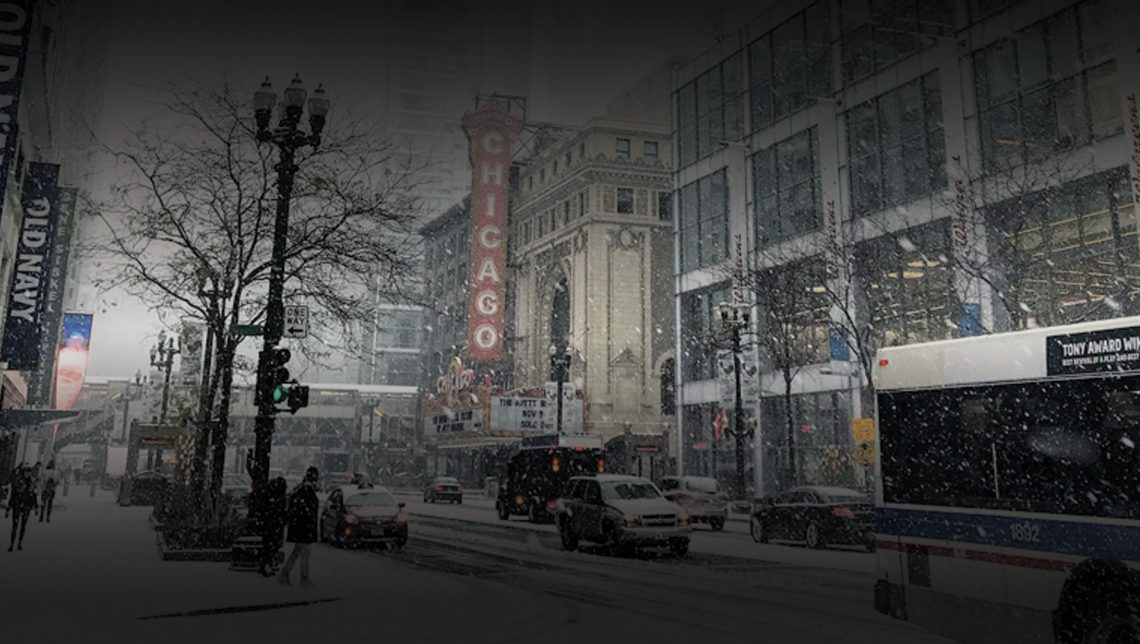Light Snow Reaches Chicago